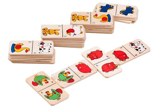 правила игры в детское домино