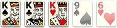 комбинация Сет или тройка (Three of a Kind)