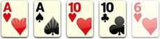 комбинация Две пары (Two pairs)